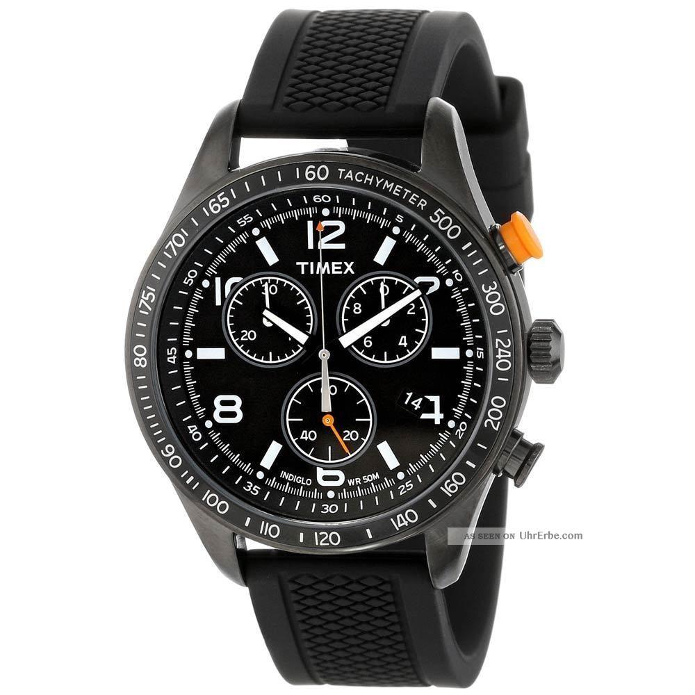 Timex Kaleidoskope Sport T2p043 Herrenuhr Analog,  Chronograph Armbanduhren Bild
