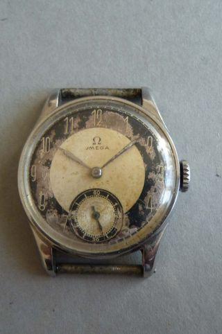 Omega Handaufzug Antike Herrenuhr 30er Jahre Bild