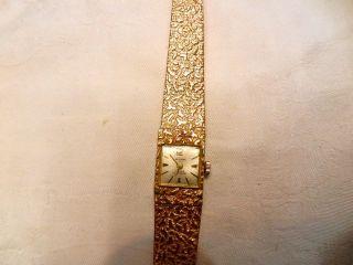 Mechanische Uhr Preziosa Vergoldet Damen Aus Erbschaft Bild