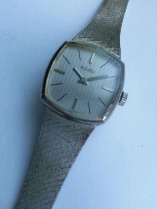 Edle Roamer Uhr Silber 835 / Handaufzug Bild