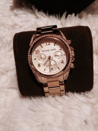 Michael Kors Mk 5166 Armbanduhr Für Damen Bild