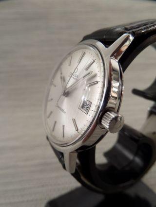 Omega Seamaster Automatik Automatic Alte Armbanduhr Old Mens Wrist Watch Vintage Bild