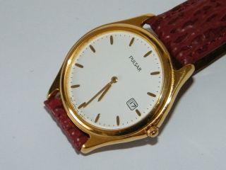 Pulsar Analog Armbanduhr,  Unisex Retro 80 - 90er Armbanduhr,  Wrist Watch Bild
