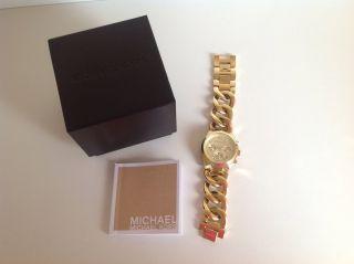 Michael Kors Damen Armbanduhr Chronograph Uhr Mk3131 Bild