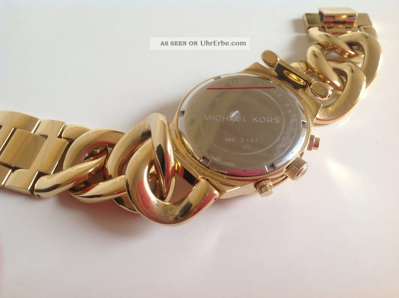 Michael Kors Damen Armbanduhr Chronograph Uhr Mk3131