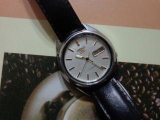 Seiko 5 Automatic Herren Armbanduhr. Bild