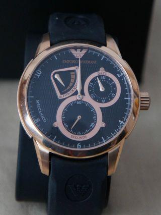 Sammlungs AuflÖsung Emporio Armani Luxus Designer Automatik Uhr Ar 4619 Bild