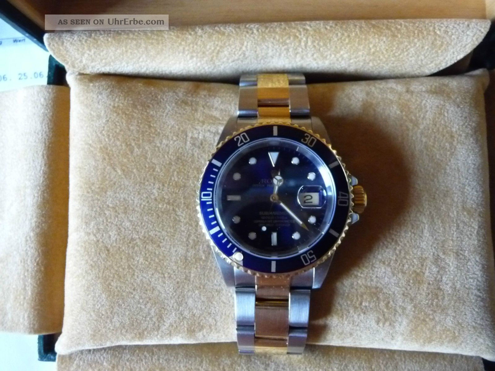 rolex submariner herren armbanduhr. Black Bedroom Furniture Sets. Home Design Ideas