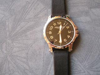 Herrenuhr Moderne Aquamar Armbanduhr Lederdesignarmband Uhr Aq - 7928 Bild