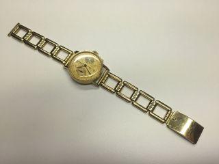 Movado Telemetre Armbanduhr In 585/ - Gelbgold,  Handaufzug, Bild