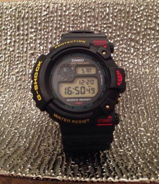 Casio G - Shock Uhr Dw 6300 (1084) - Rare - Vintage Sammleruhr - Frogman??? Bild