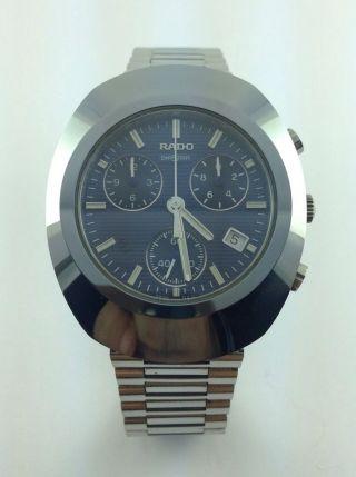 Rado - Diastar - Chronograph - Datumsanzeige - Armbanduhr Bild