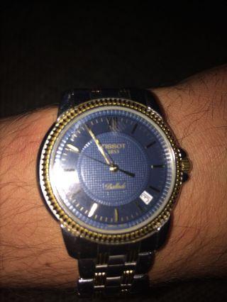Tissot Uhr Gold Bild