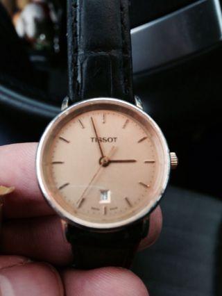 Tissot Uhr Ansehen Bild