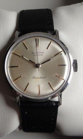 Sammleruhr - Vintage Armbanduhr Glycine Altus – Cal.  St (as) 1686 – Ca.  1960 Bild