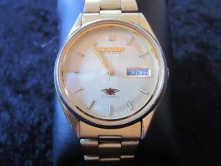 Citizen Uhr Uhren Automatik Automatic Uhr Handaufzug 21 Jewels Wr Bild
