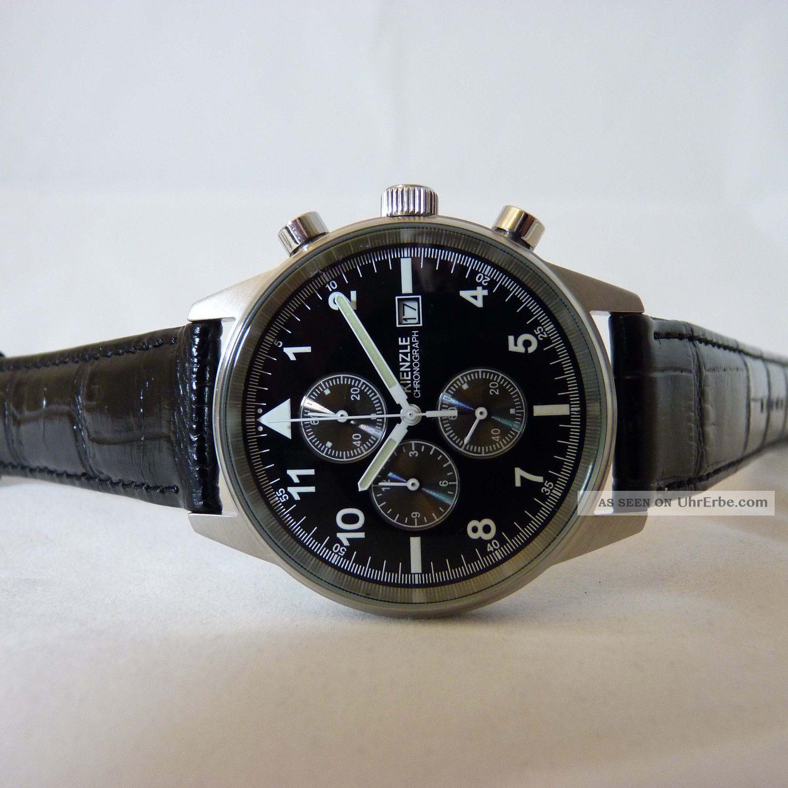 Kienzle Herren Armbanduhr Quartz Chronograph Mit Datumsfunktion Armbanduhren Bild