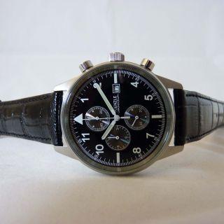 Kienzle Herren Armbanduhr Quartz Chronograph Mit Datumsfunktion Bild