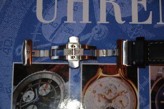 Victorinox Leder Uhrenband 23mm Top Bild