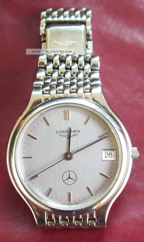 Longines L629.  1 Mercedes Armbanduhren Bild