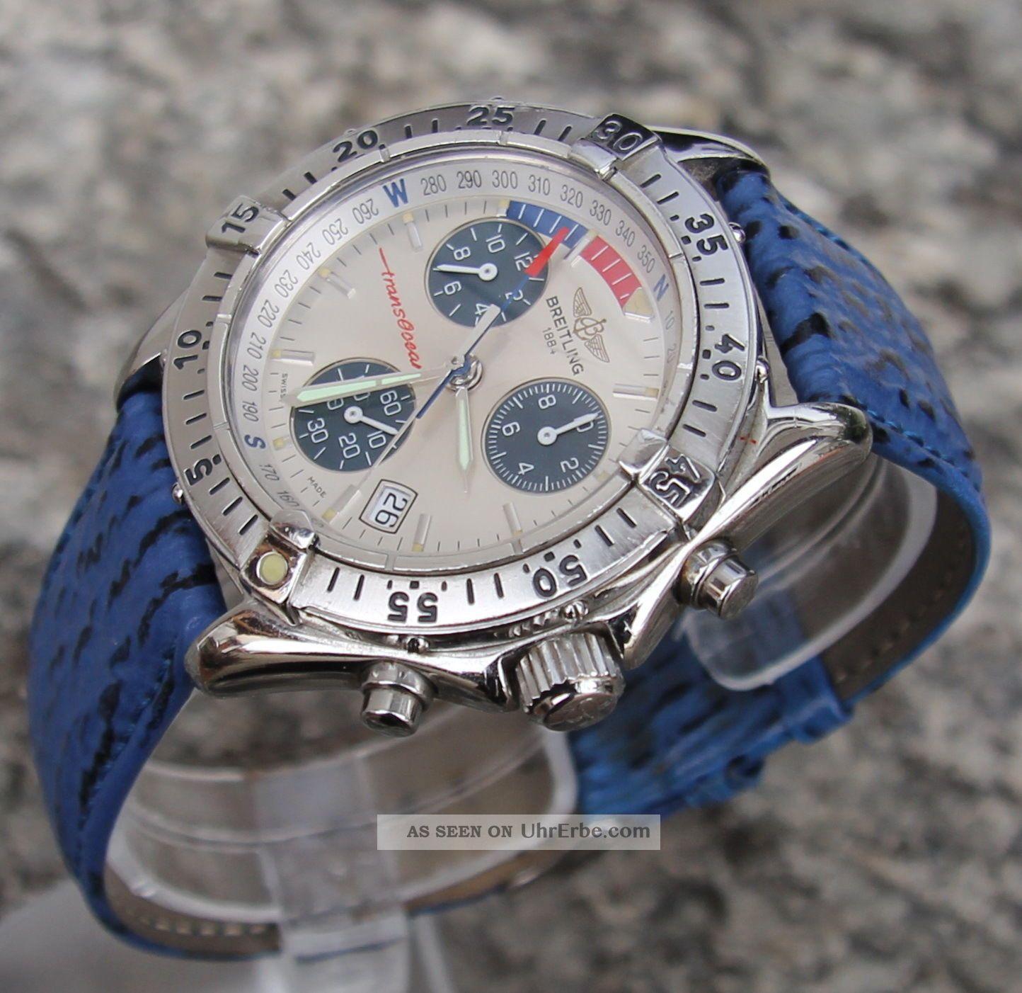 Breitling Transocean Yachting Shark Chronograph Ref.  A53340 Armbanduhren Bild