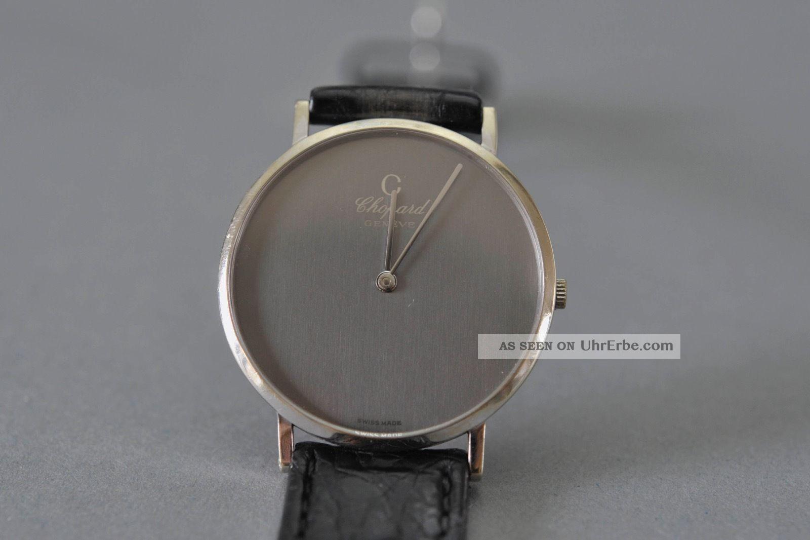Choprad 750 Weißgold Luxusuhr Armbanduhren Bild