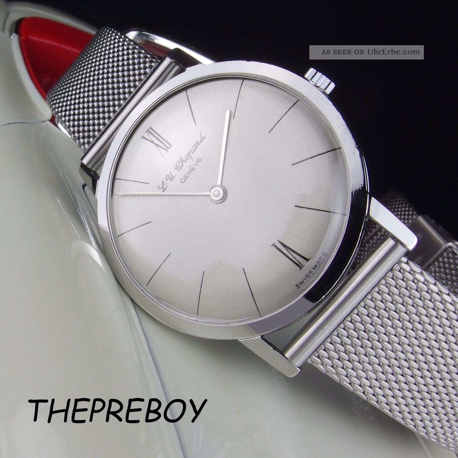 Top Chopard Herren - - - - - Revision - - - - - Peseux 7000 1960er Armbanduhren Bild