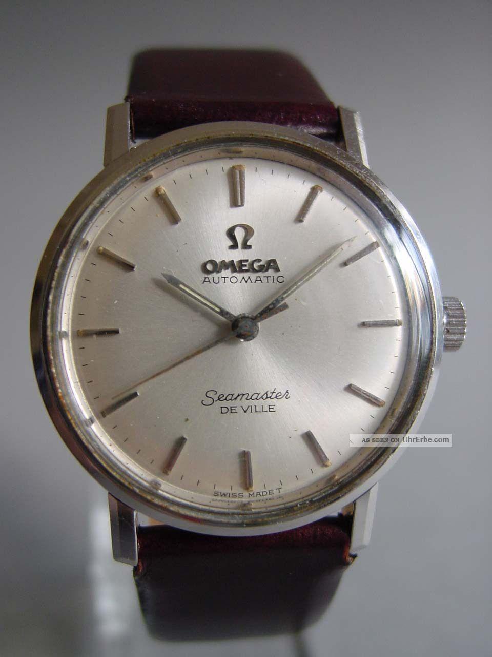 Omega Seamaster Automatic Edelstahl Armbanduhren Bild