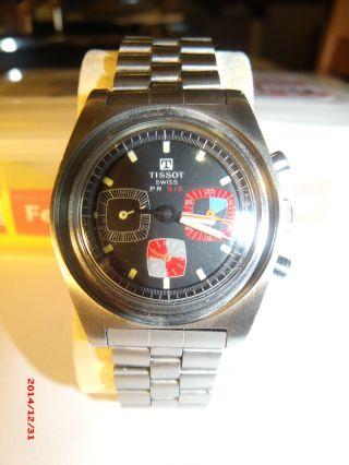 Tissot Klassiker - Pr 516 - Chronograph Mit Einem Fehler Bild