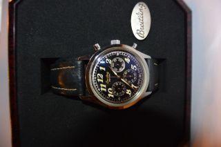 Breitling Uhr Chronograph Handaufzug Bild