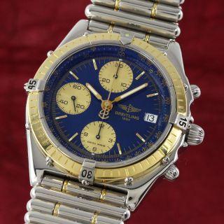 Breitling Chronomat Chronograph Gold /stahl Automatik D13048 Vp: 11380,  - E Bild
