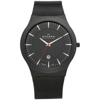 Skagen Denmark Watch Uhr Herrenuhr Titanium Case 234xxltb - Bild