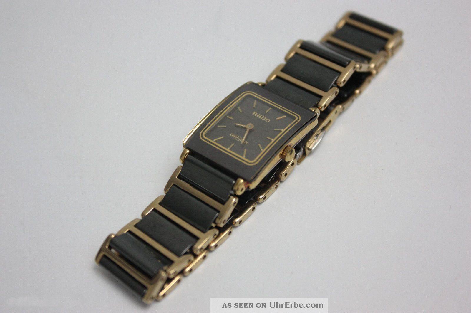 Rado Damenuhr Sportlich Elegant - Absolut Neuwertig Armbanduhren Bild