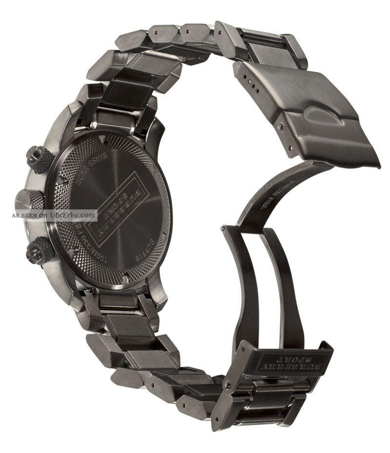 burberry herren sport uhr bu7716 endurance grau chronograph. Black Bedroom Furniture Sets. Home Design Ideas