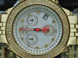 Damen Diamant Armbanduhr Joe Rodeo Jojino 1.  5k Diamant Ziffernblatt Uhr Bild