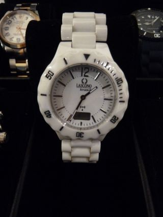 M.  Johansson Hightech Ceramic Quartz Armbanduhr Bild
