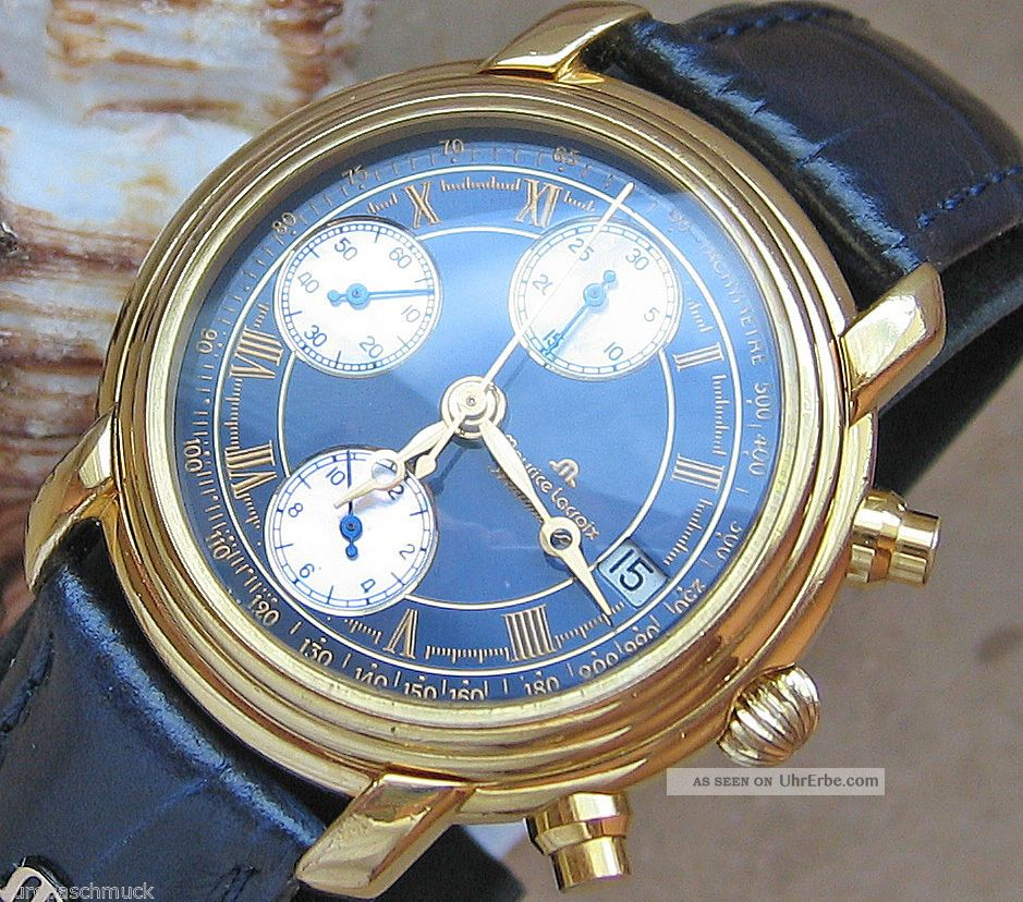 armband uhren luxusuhren luxus uhr chrono chronograph herren maurice lacroix. Black Bedroom Furniture Sets. Home Design Ideas