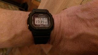 Casio Gshock Gw - 5000 - 1jf Tough Solar Radio Watch Multiband 6 Japan Gw 5000 1 Bild