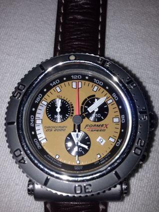 Formex 4 Speed Ds2000 Herrenuhr Bild