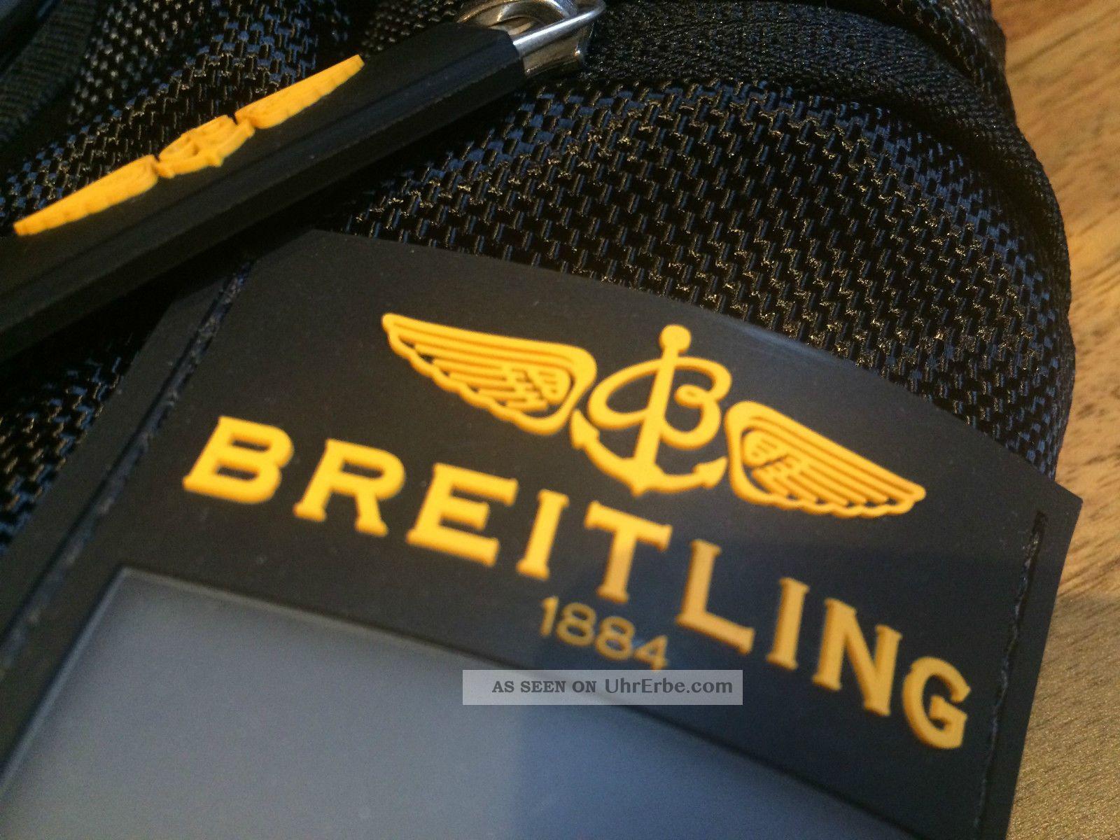 Breitling Rucksack Armbanduhren Bild