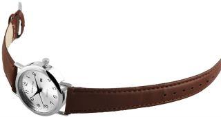 Neue Excellanc Quarz Analog Damenuhr Herrenuhr Datumsanzeige Leder Armbanduhr Bild