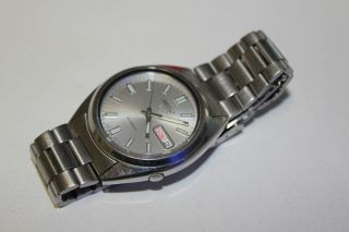 Seiko 5 Automatic Herrenuhr Uhr Armbanduhr - Bild