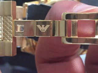 Armani Ar5857,  Goldene Herren Uhr,  Wie Ovp Bild