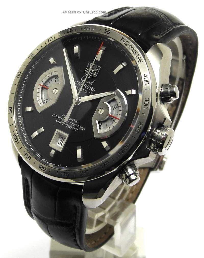 Tag Heuer Grand Carrera Chronograph Cal 17 Cav511a Armbanduhren Bild