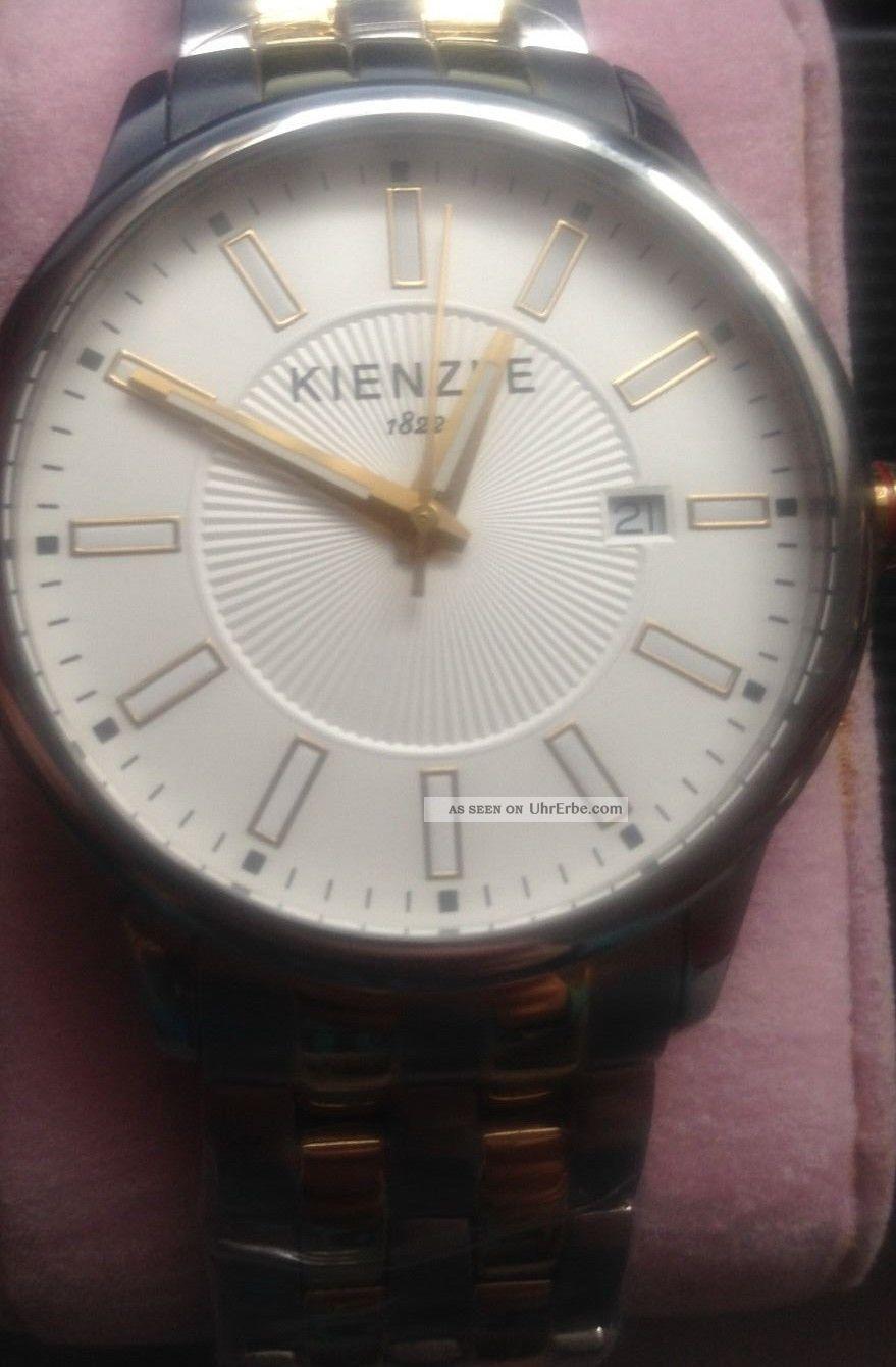 Kienzle Herren - Armbanduhr Xl Analog Edelstahl Beschichtet Armbanduhren Bild