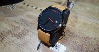 Mvmt Watch | Herren Uhr | Schwarz Braun Edelstahl | Bild
