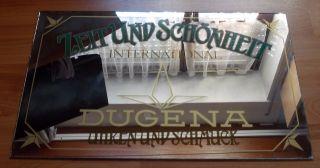 Dugena Werbe - Spiegel 47x31 Cm