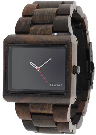 Kerbholz Uhr Reineke Sandelholz Armbanduhr Bild