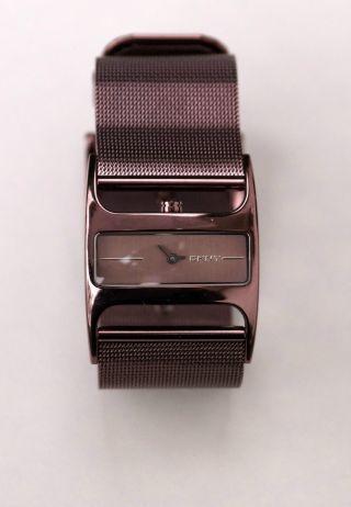 Originale Dkny Damenuhr Eckig,  Absolut Neuwertig Nr.  3853 Damen - Armbanduhr Bild