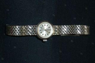 Sehr Schöne Elegante Damen Mädchen Armbanduhr Von Tissot Liebhaberstück Bild